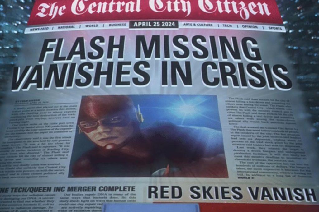 Veja tudo que sabemos até agora sobre Crise nas Infinitas Terras - 1