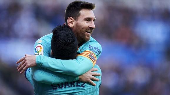 Luis Suarez,Lionel Messi