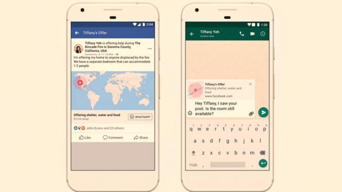 Alerta de desastres naturais do Facebook está chegando ao WhatsApp - 1