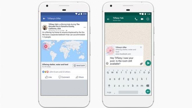 Alerta de desastres naturais do Facebook está chegando ao WhatsApp - 2
