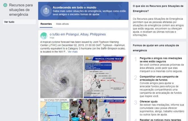 Alerta de desastres naturais do Facebook está chegando ao WhatsApp - 3