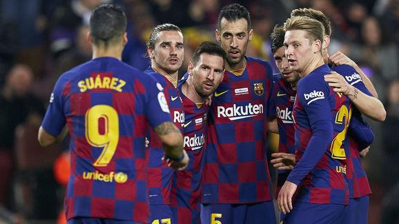 Lionel Messi,Philippe Coutinho,Luis Suarez,Sergio Busquets,Frenkie de Jong