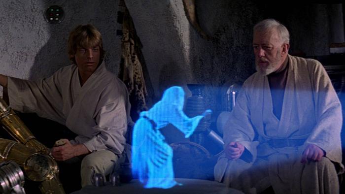 Cientistas desenvolvem holograma com som e toque iguais aos de Star Wars - 1