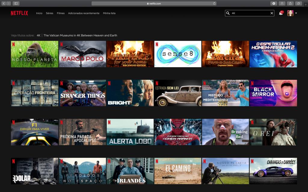 Como encontrar filmes e séries 4K na Netflix - 4