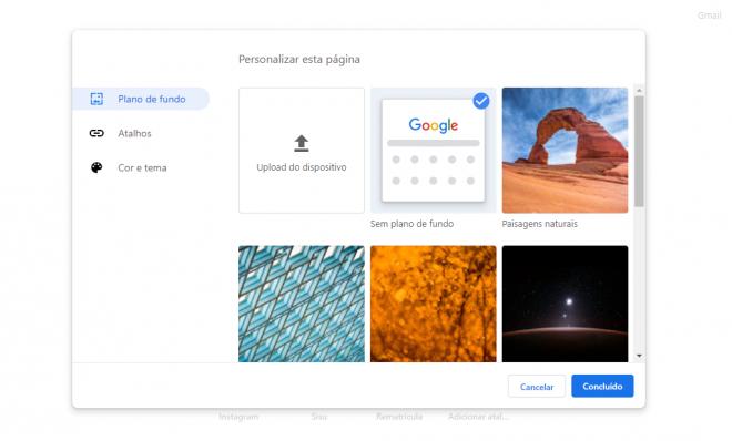 Como personalizar a home do Google Chrome com temas e extensões - 15