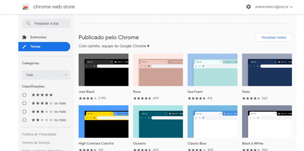 Como personalizar a home do Google Chrome com temas e extensões - 2