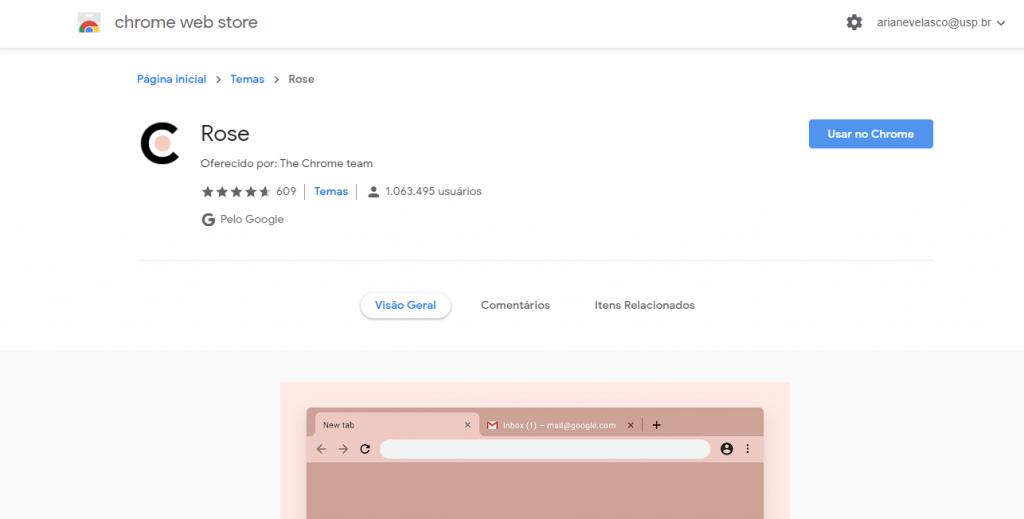 Como personalizar a home do Google Chrome com temas e extensões - 3