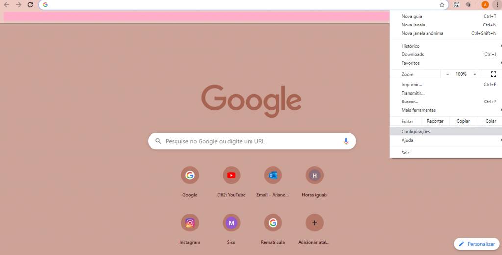 Como personalizar a home do Google Chrome com temas e extensões - 4