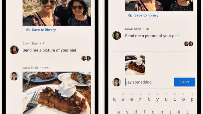 Google Fotos agora tem chat por onde você envia arquivos e ainda bate um papo - 1
