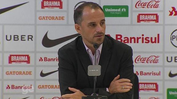 Palmeiras agenda reunião e Rodrigo Caetano se manifesta pela 1ª vez sobre possível saída do Inter - 2