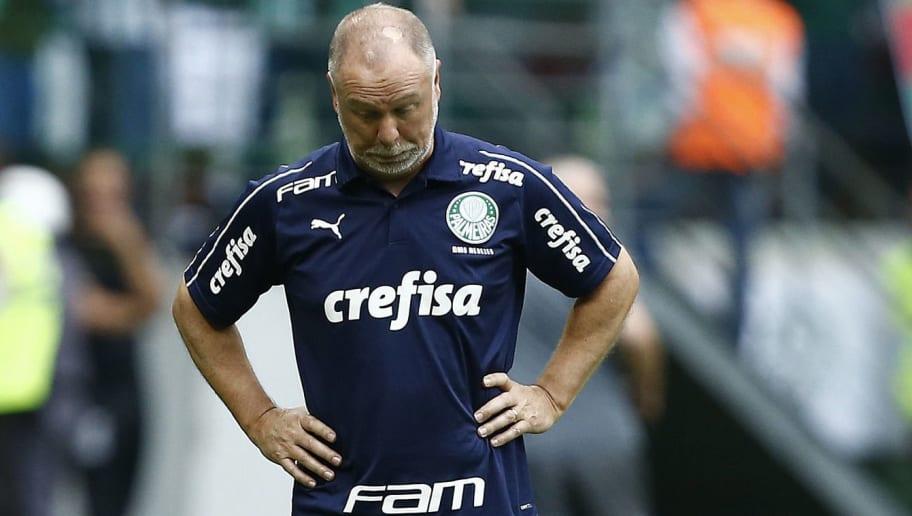 Palmeiras perde para o Flamengo, e Mano dá adeus ao clube - 1