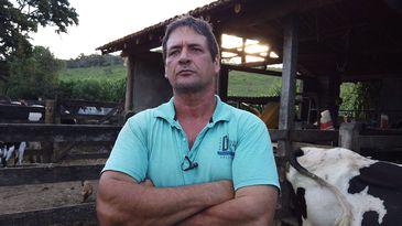 Marino D'Ângelo Junior foi afetado pelo rompimento da barragem da Samarco em Mariana e hoje toma remédio para depressão