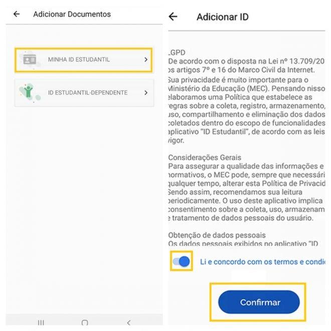 ID Estudantil: como fazer a carteira digital do estudante - 6