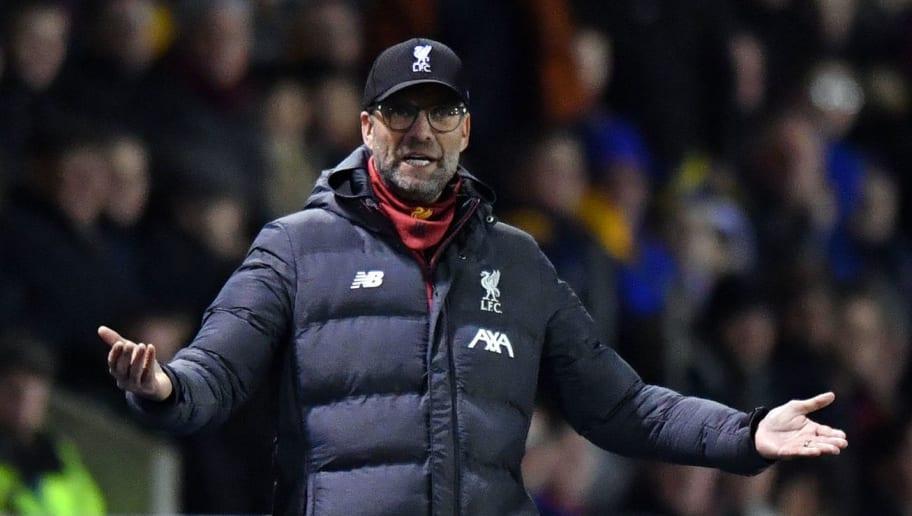 Klopp dispara contra Federação e crava Liverpool reserva na Copa da Inglaterra - 1