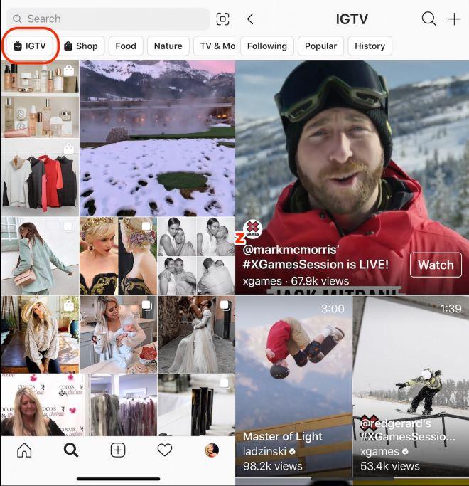 Popularidade em queda? Instagram remove ícone do IGTV do feed principal - 4