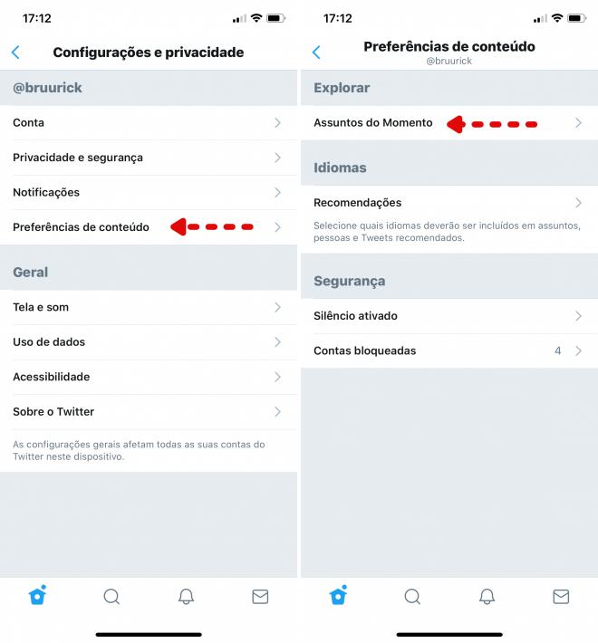 Twitter: como alterar a região dos trending topics no PC e celular - 4
