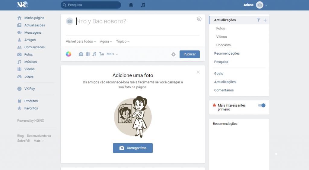 VK: conheça a rede social que é sucesso na Rússia - 7