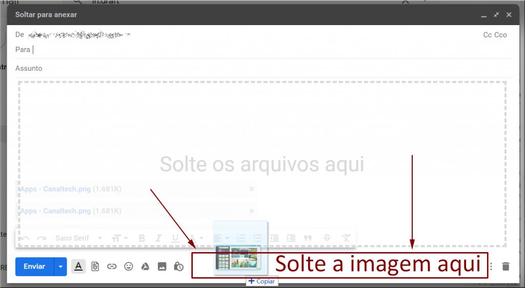 Aprenda a adicionar fotos em anexo no Gmail usando apenas um clique - 2