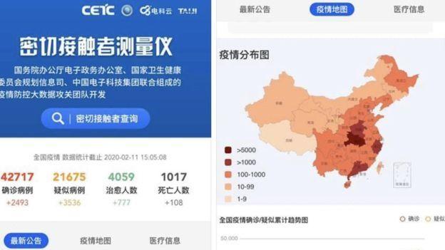 China agora tem app para checar possível contato com o Covid-19 (coronavírus) - 2