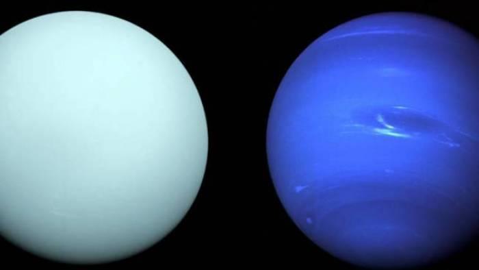 Colisões gigantes podem ter causado diferenças entre Urano e Netuno - 1