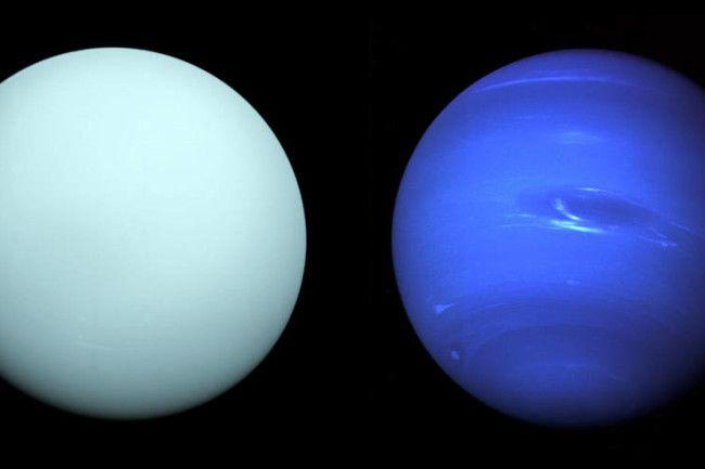 Colisões gigantes podem ter causado diferenças entre Urano e Netuno - 2