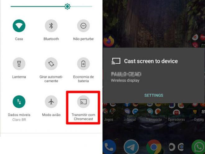 Como espelhar a tela do celular Android no PC com Windows 10 - 8