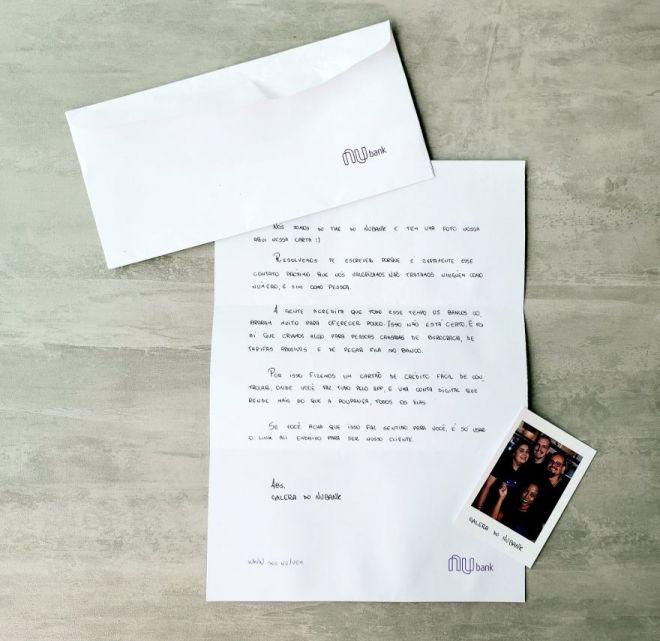Como o Nubank envia cartas até para quem não é cliente - 2