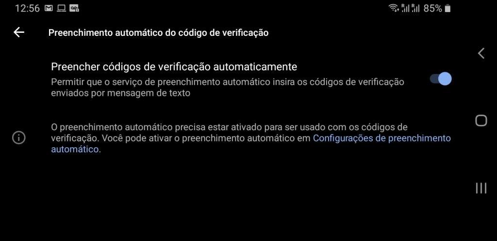 Google começa a liberar o preenchimento automático de códigos de segurança - 2