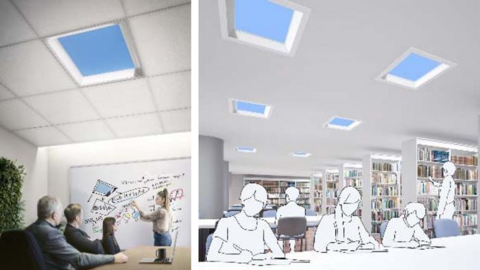 Mitsubishi apresenta solução para escritórios estressantes: claraboias virtuais - 1