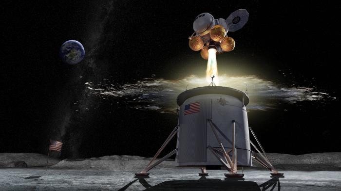 """NASA pousará na Lua """"por qualquer meio necessário"""", diz vice-presidente dos EUA - 1"""