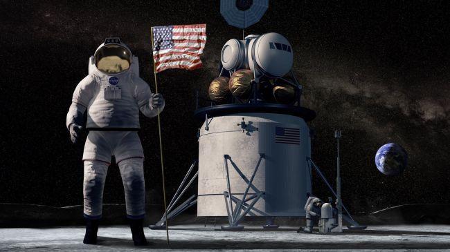 """NASA pousará na Lua """"por qualquer meio necessário"""", diz vice-presidente dos EUA - 2"""