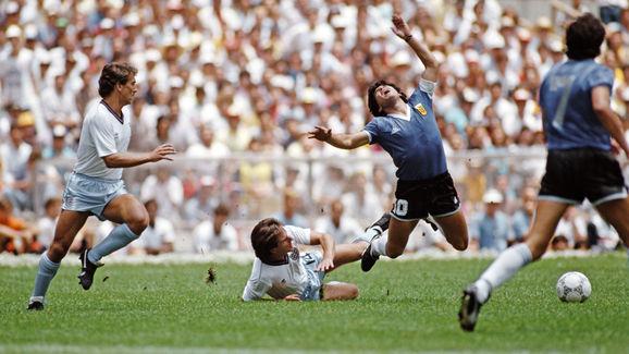 Diego Maradona,Terry Fenwick