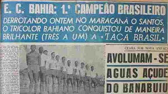 Túnel do tempo: a história do primeiro time brasileiro a participar da Libertadores - 2