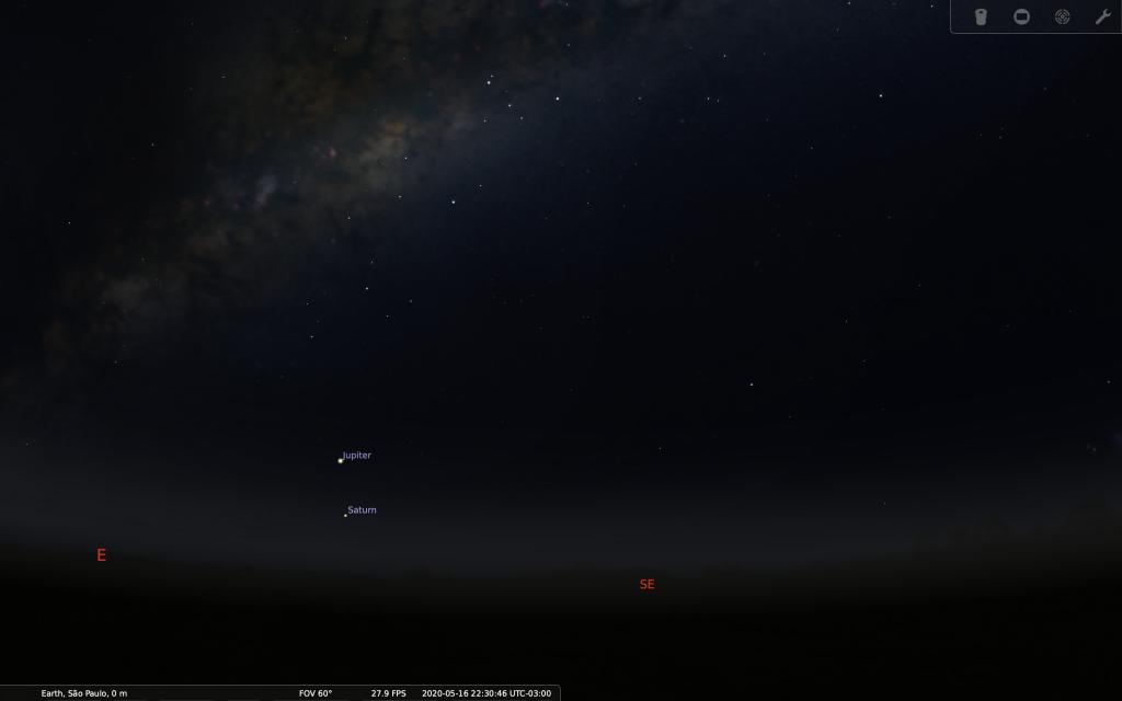 É FAKE! Lua, Vênus e Júpiter NÃO formarão um rosto sorridente no dia 16 de maio - 4