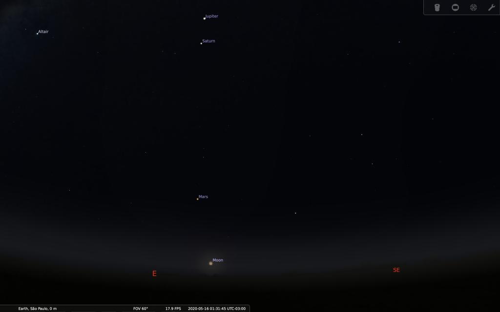 É FAKE! Lua, Vênus e Júpiter NÃO formarão um rosto sorridente no dia 16 de maio - 6