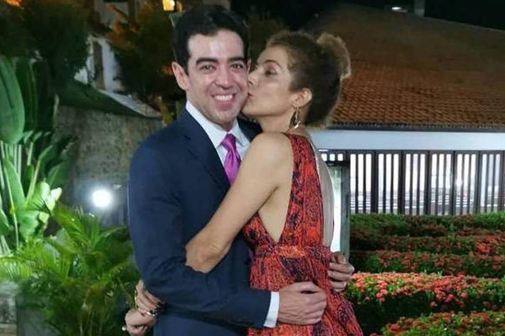 Vanessa da Matta e o ex-noivo