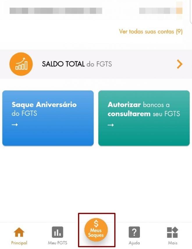 Como sacar o FGTS pelo app no celular Android e iOS - 3