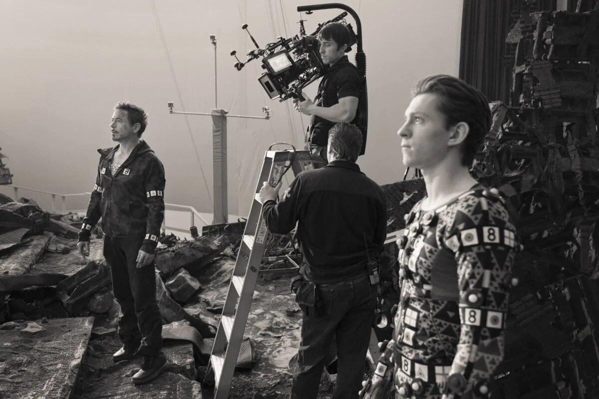 Vingadores se divertem em fotos inéditas da Marvel - 2