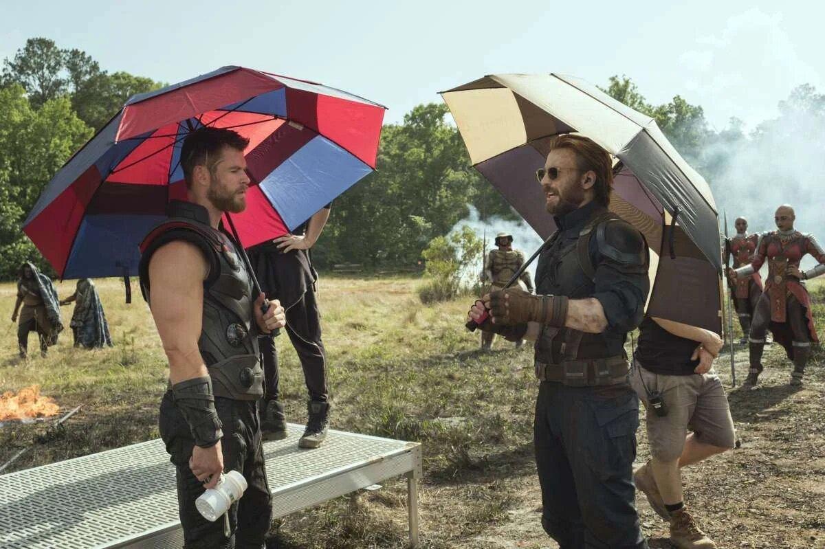 Vingadores se divertem em fotos inéditas da Marvel - 7