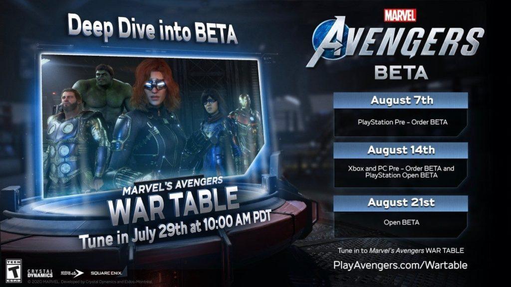 Beta de Marvel's Avengers ganha data de lançamento - 1