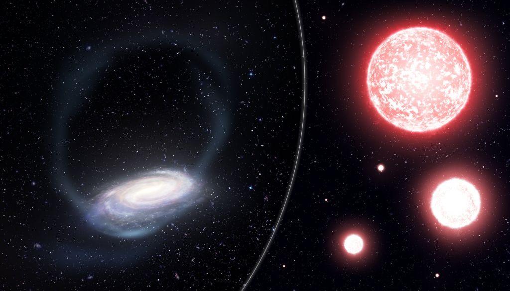 Cientistas descobrem fluxo de estrelas composto por restos de aglomerado estelar - 2