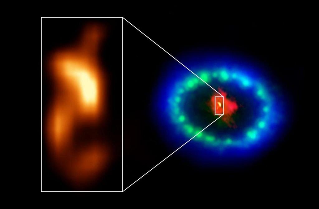 Cientistas encontram pista de estrela de nêutrons