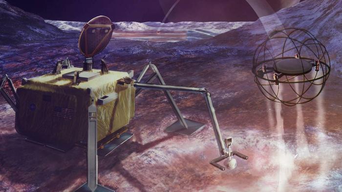 NASA pode enviar robôs saltitantes movidos a vapor a luas do Sistema Solar - 1