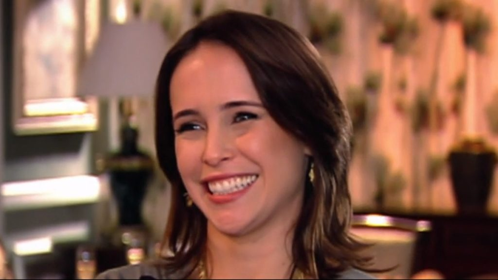Fernanda Nobre vive a personagem Lucia em Os Mutantes (Reprodução: PlayPlus)