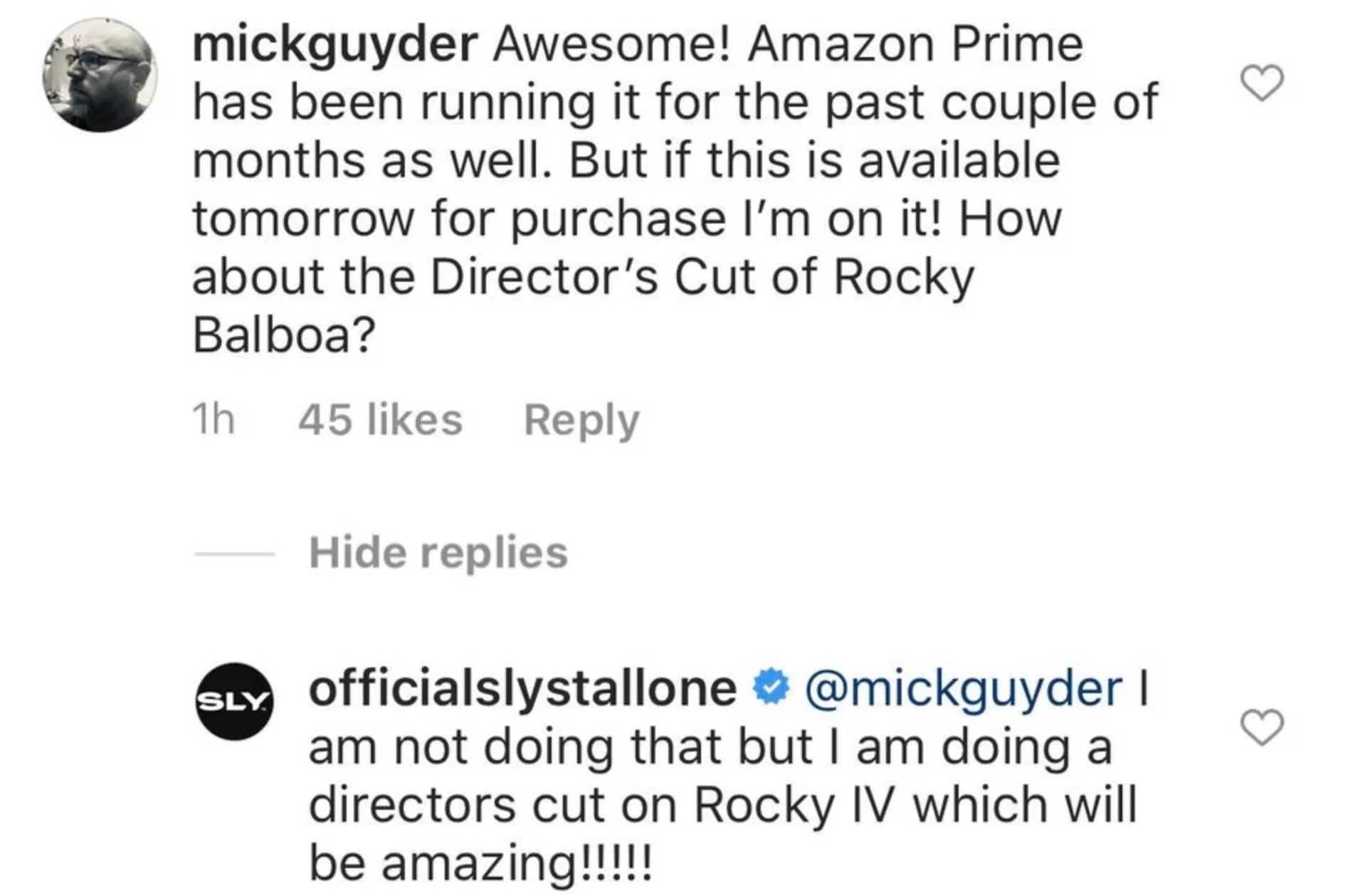 Sylvester Stallone confirma novo filme de Rocky - 1