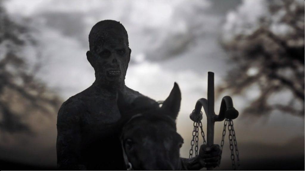 O terceiro selo do Apocalipse, o Cavaleiro Negro, a Fome em Apocalipse