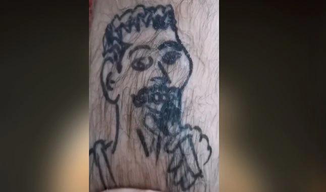 Fã de Freddie Mercury tatua o rosto do cantor e resultado viraliza no Tik Tok; veja! - 1