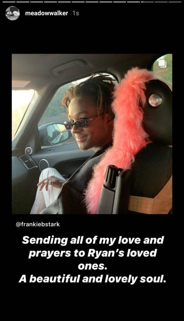 Filha de Paul Walker comove fãs com homenagem para amigo morto - 1