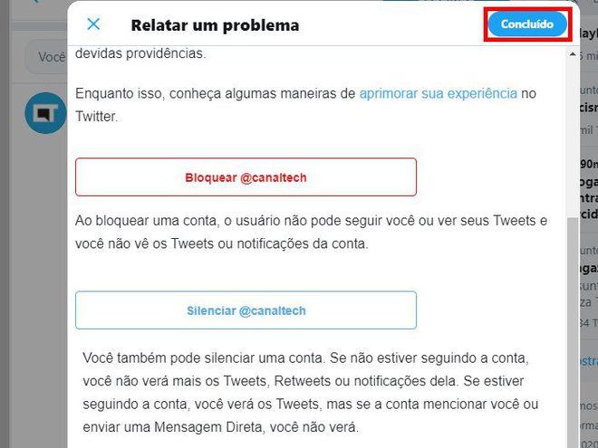 Como denunciar spam e fake news no Twitter - 11