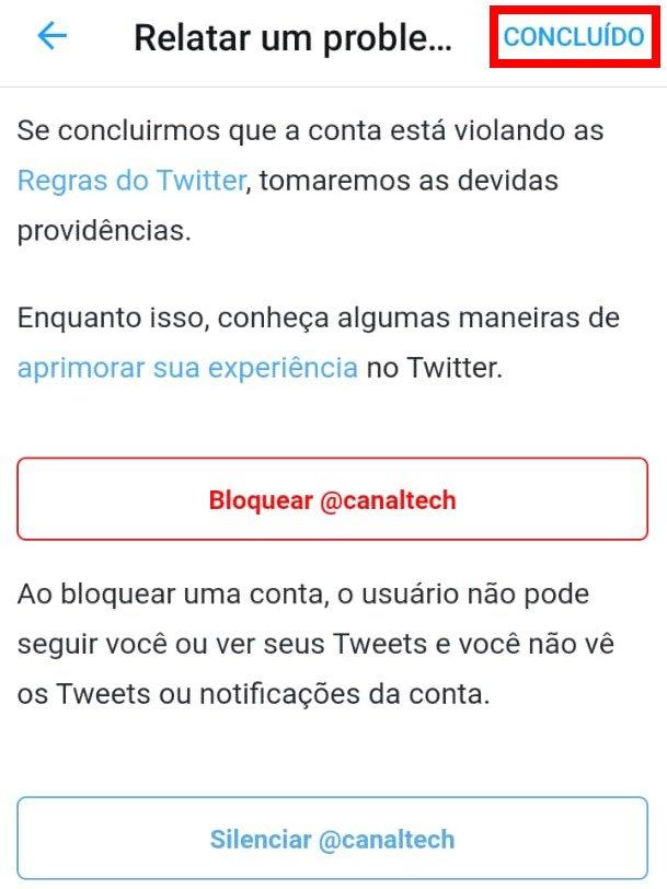 Como denunciar spam e fake news no Twitter - 6